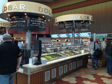 LGA salad bar