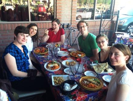 dinner at El Charro