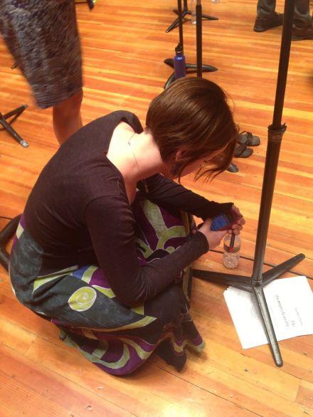 recording break