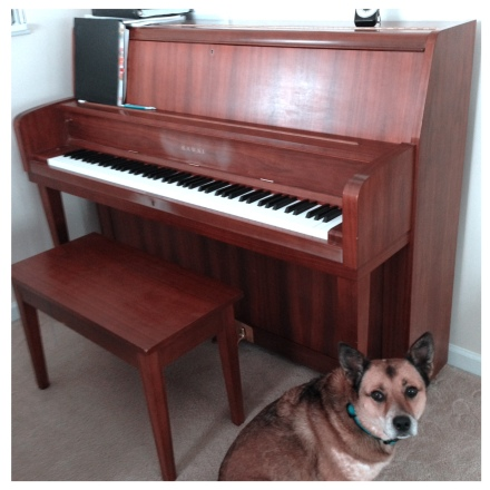 piano and Charlie