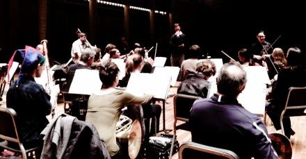 TCA in rehearsal