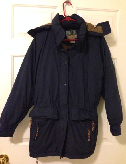 puffy down parka