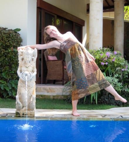 Kathryn in Bali