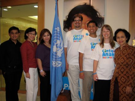 UNICEF visit